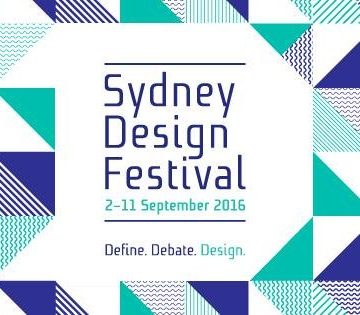 Sydney Design Festival Workshops September 2016