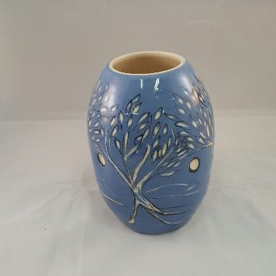 Blue night vase_small